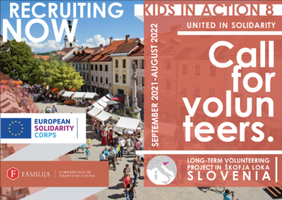 PiltVabatahtaliku töö võimalus Sloveenias