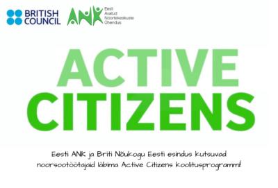 PiltTule osalema Active Citizens koolitusprogrammi!